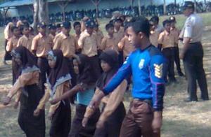 Kegiatan Pelatihan PBB Siswa Baru 2009